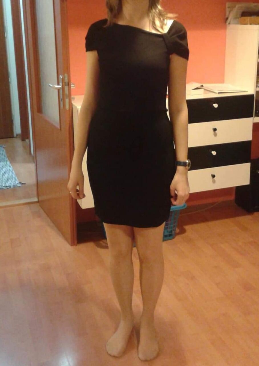 Čierne šaty značky Mango - Obrázok č. 1