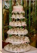 stojan na tortu a cupcake,