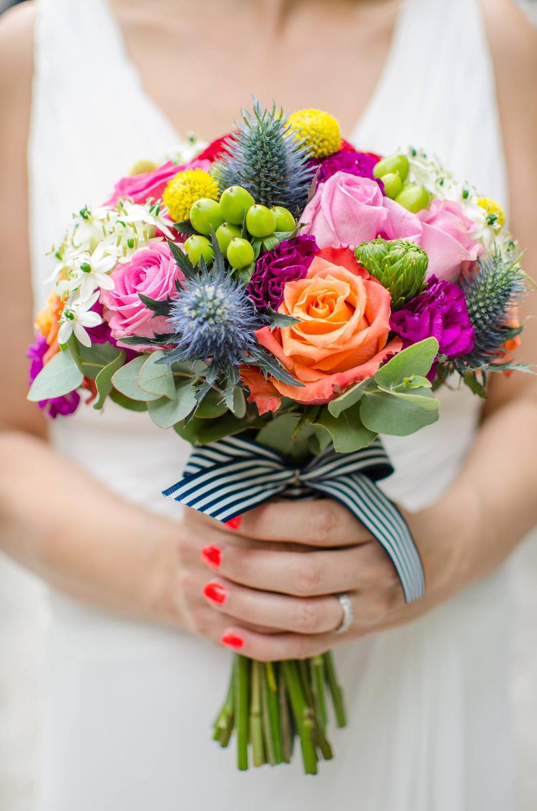 Kristýna{{_AND_}}Jirka - to je tak, když necháte floristce volnou ruku.....