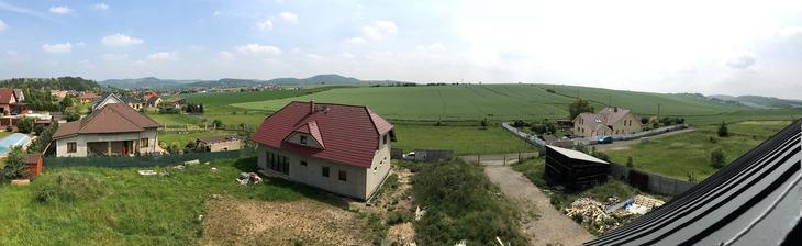 panoramata z plošiny