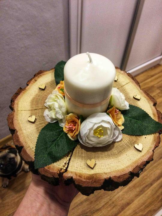 Naše svatební přípravy K+P - Venkovní svícínky :)