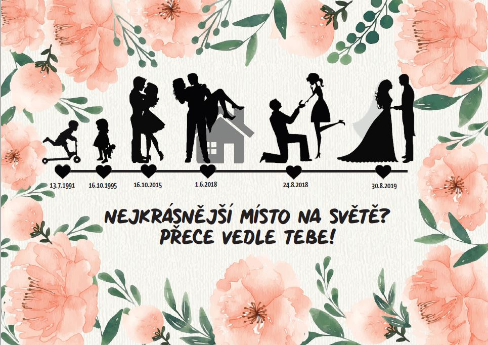 Naše svatební přípravy K+P - Náš životní příběh :)