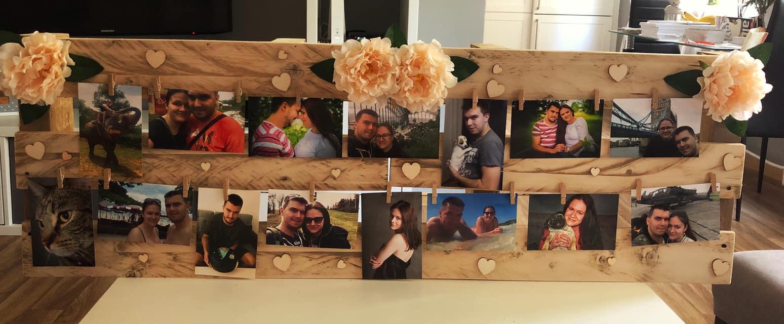 Naše svatební přípravy K+P - Včerejší výroba ... dekorace do fotokoutku :)
