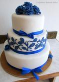 Modrý dort