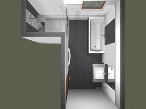 Vizualizace naší koupelny