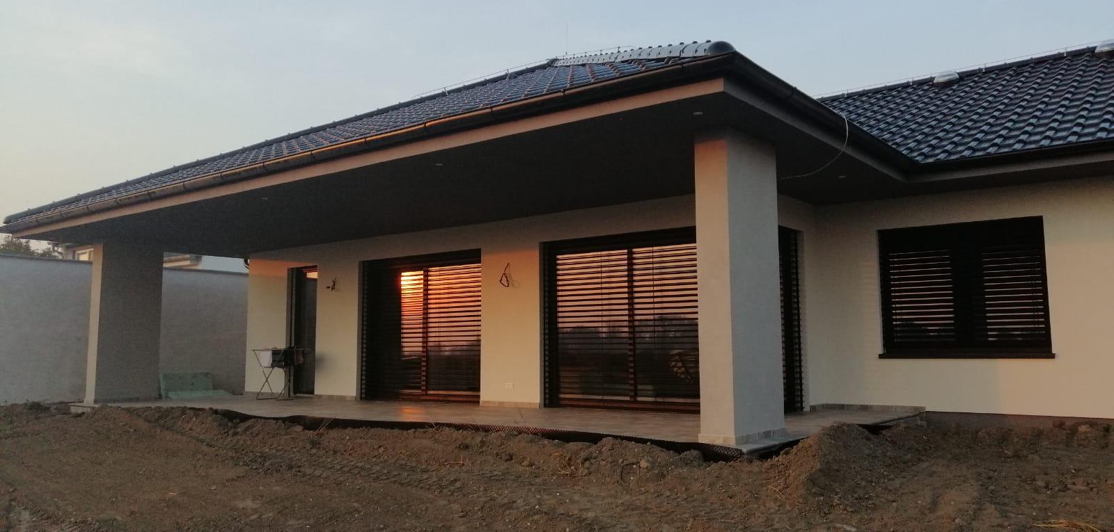 Na pangeroch - Zapad slnka na terase