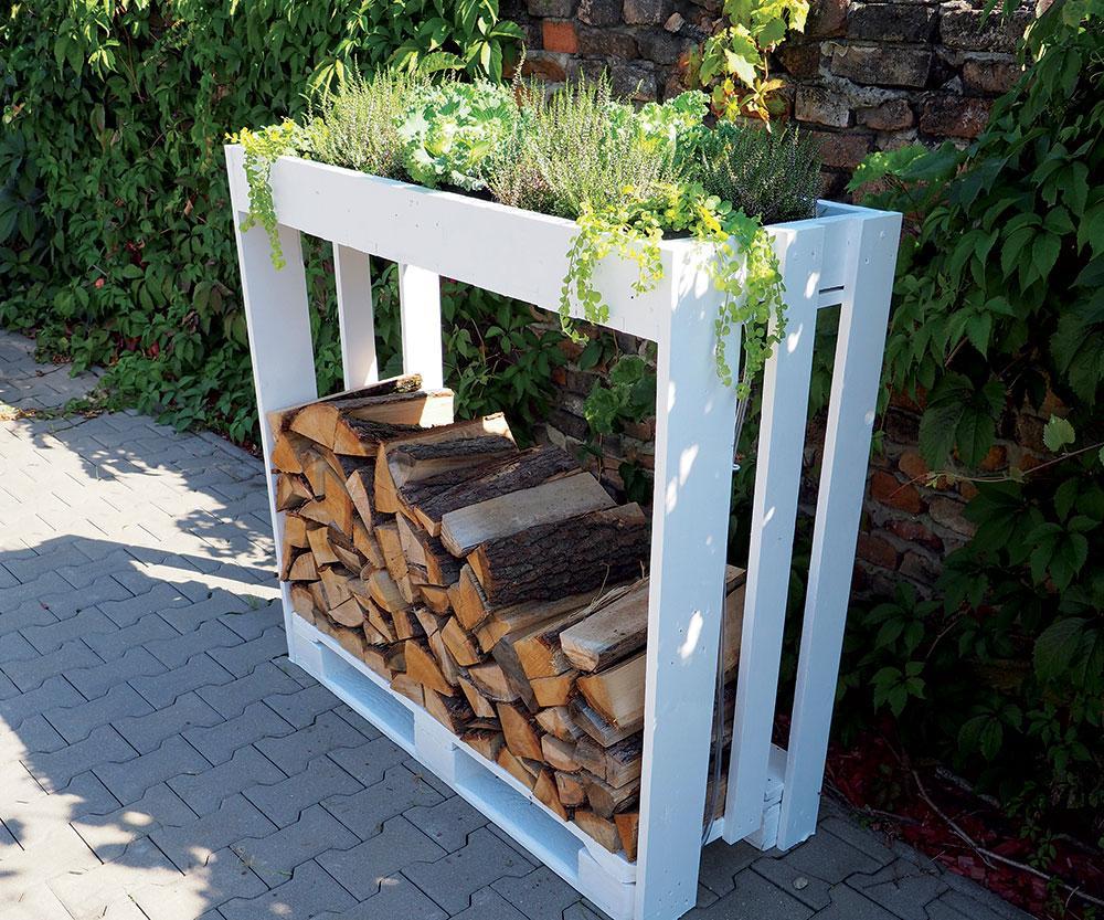 Stojan na palivové drevo - Obrázok č. 1