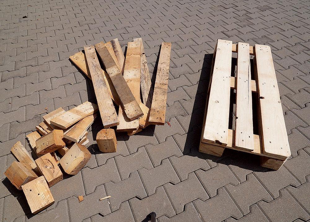 Stojan na palivové drevo - Obrázok č. 2