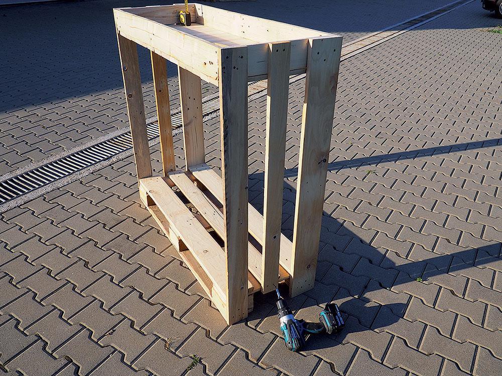 Stojan na palivové drevo - Obrázok č. 3