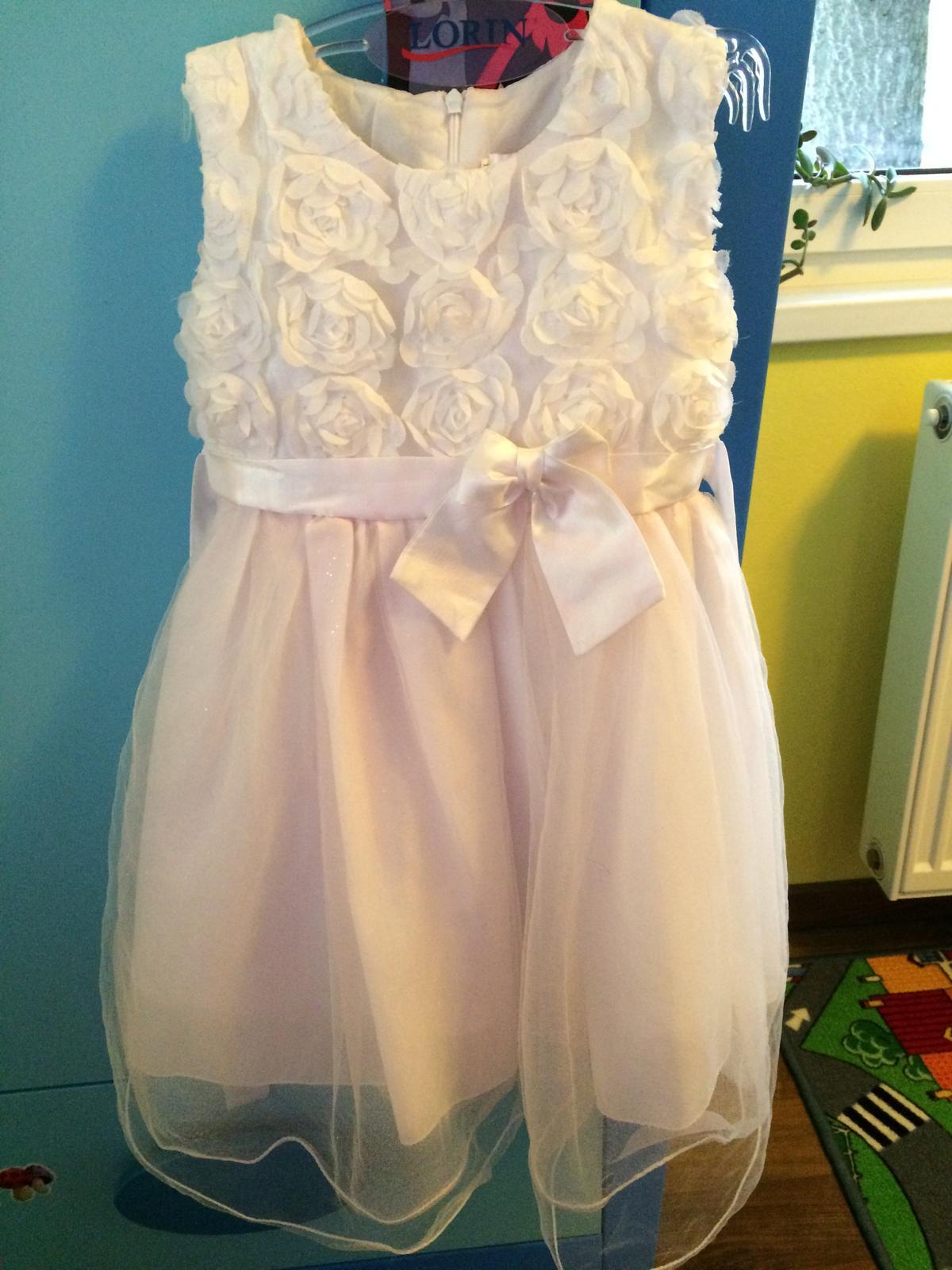 Šaty pre malú družičku / princeznú - Obrázok č. 1