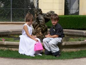 malí svatebčané - Deniska a Lukáš (moc si rozuměli)