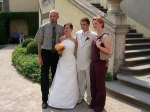 Naši společní přátelé - seznámili jsme se na dovolené na Korfu