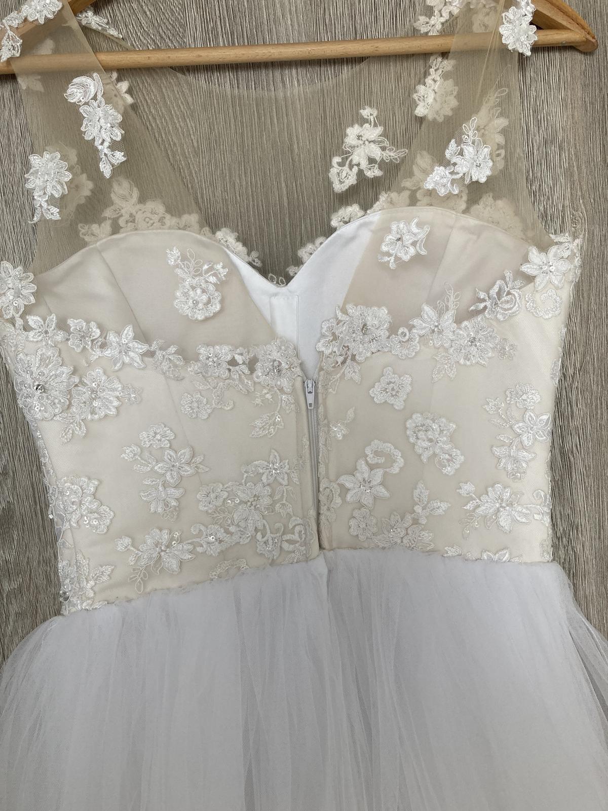 svadobné šaty veľkosť 34-36 - Obrázok č. 2