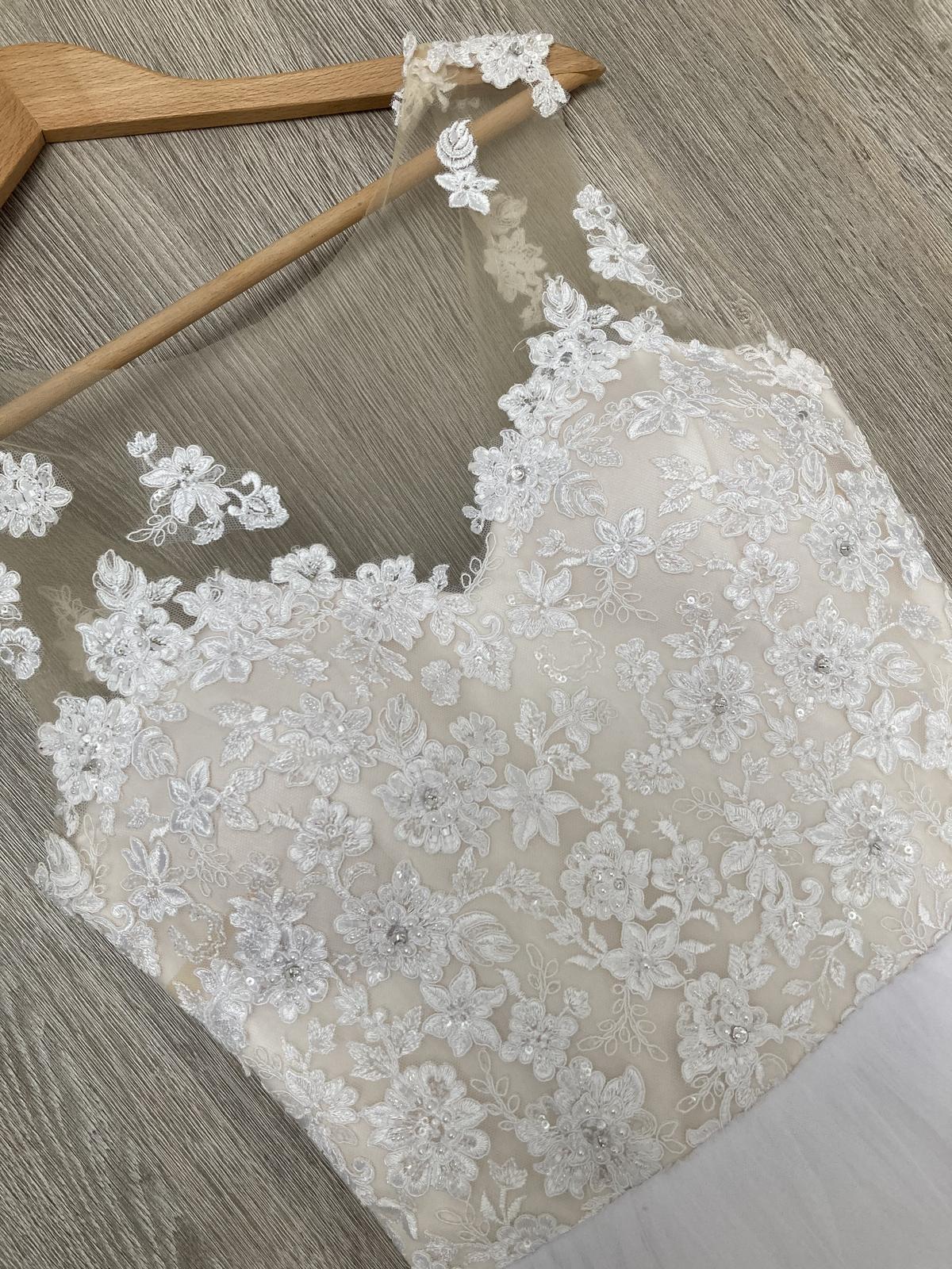 svadobné šaty veľkosť 34-36 - Obrázok č. 3