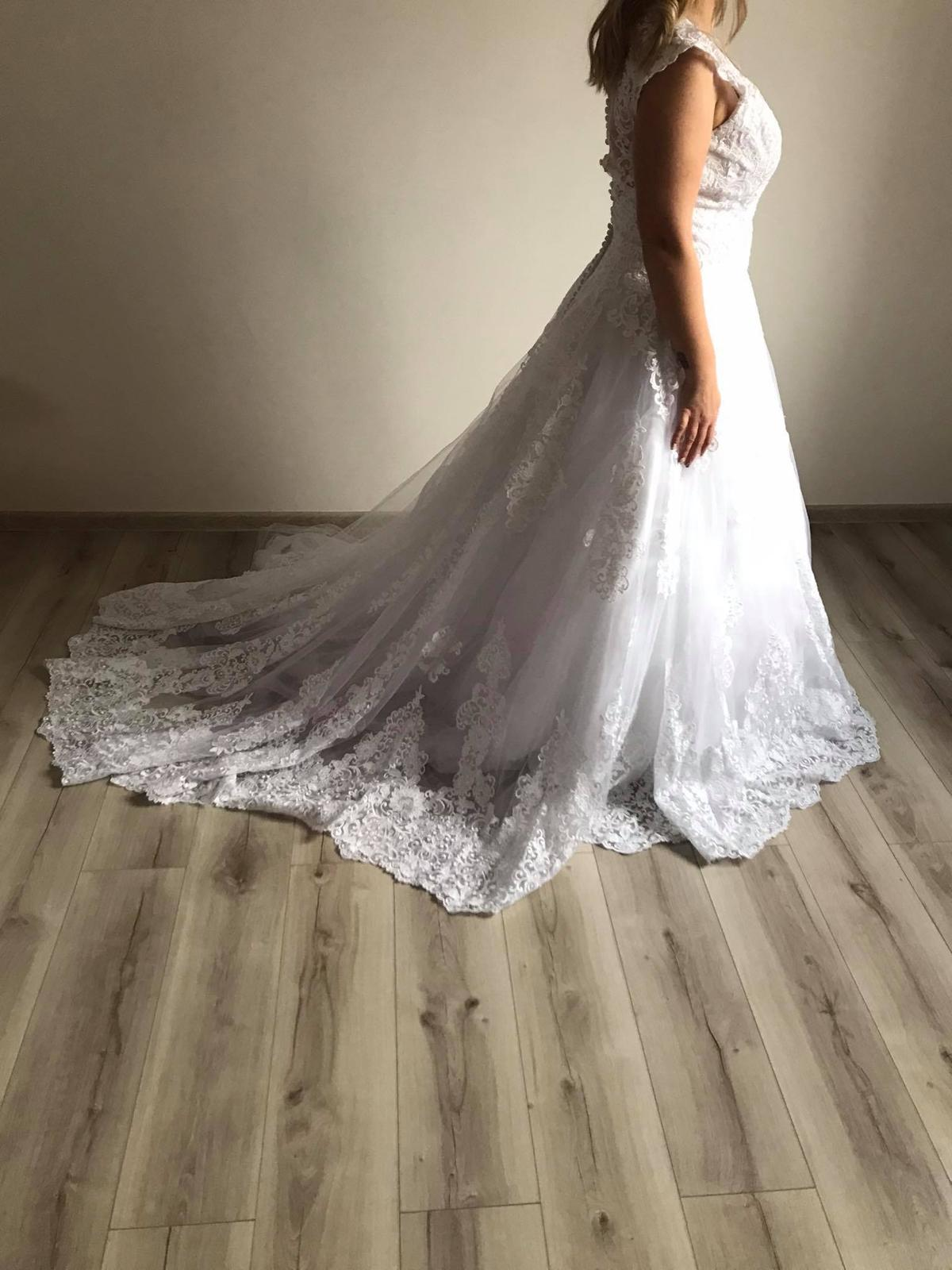 Svatební šaty - vel.40/42 - Obrázek č. 1