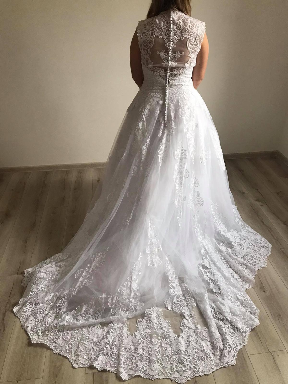 Svatební šaty - vel.40/42 - Obrázek č. 2