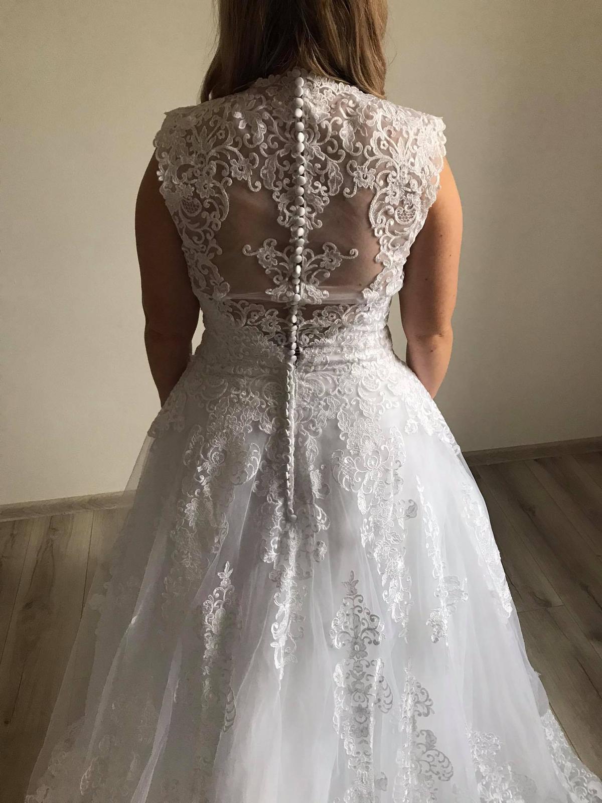 Svatební šaty - vel.40/42 - Obrázek č. 3