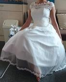 Retro svadobné šaty, 36