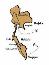 Svadobná cesta: Thajsko, Malajzia, Singapúr