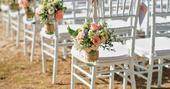 Chiavari stoličky biele (prenájom),