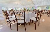 Chiavari stoličky hnedé, mahagon (prenájom),