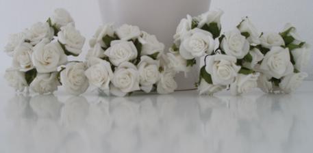 Ružičky na pierka