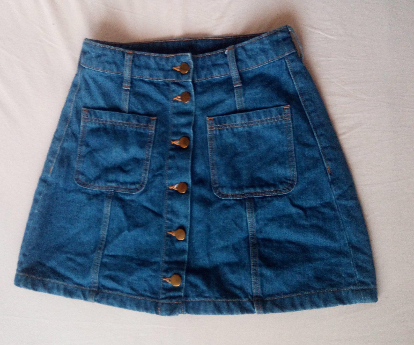Džínsová sukňa - Obrázok č. 2