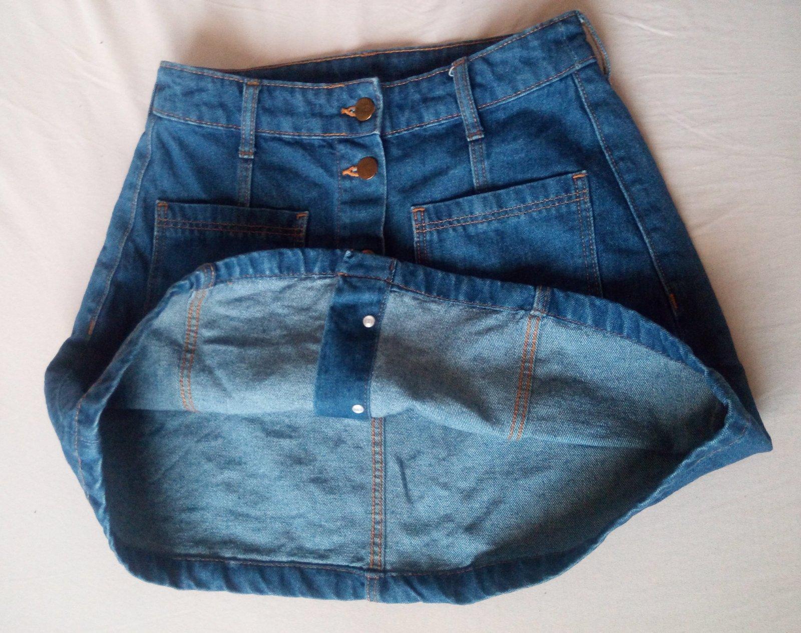 Džínsová sukňa - Obrázok č. 4