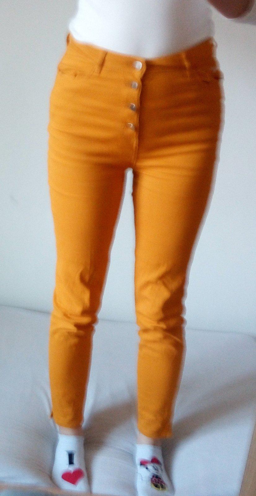 Horčicovožlté nohavice Reserved - Obrázok č. 1