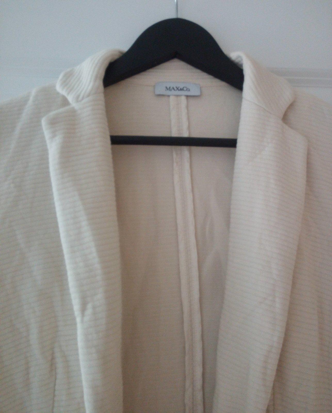 Bledé bavlnené sako S - Obrázok č. 2