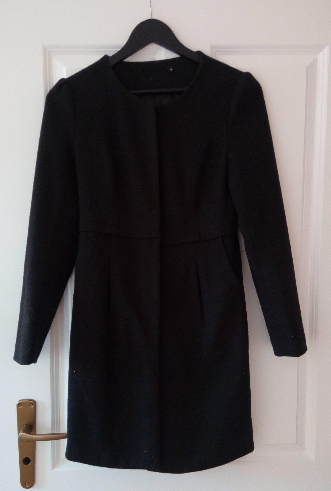 Čierny kabát/sako S - Obrázok č. 4