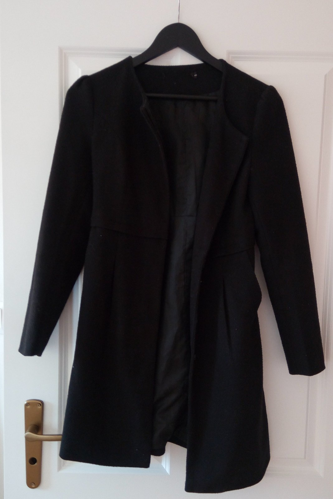 Čierny kabát/sako S - Obrázok č. 2