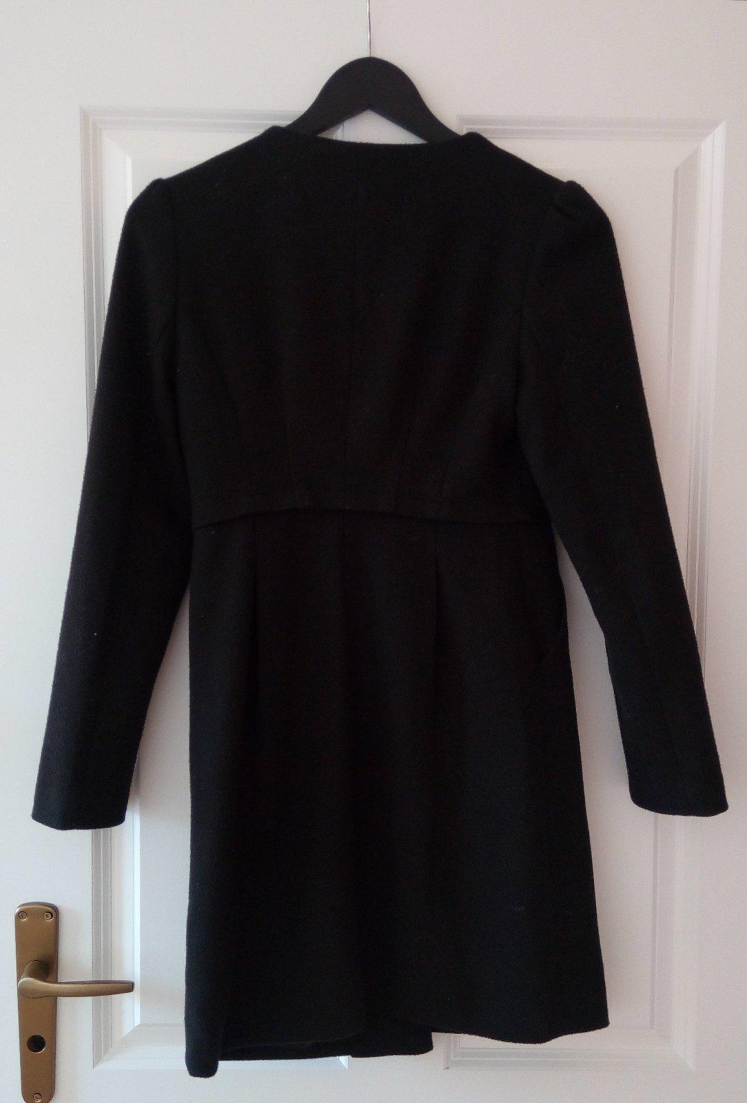 Čierny kabát/sako S - Obrázok č. 3
