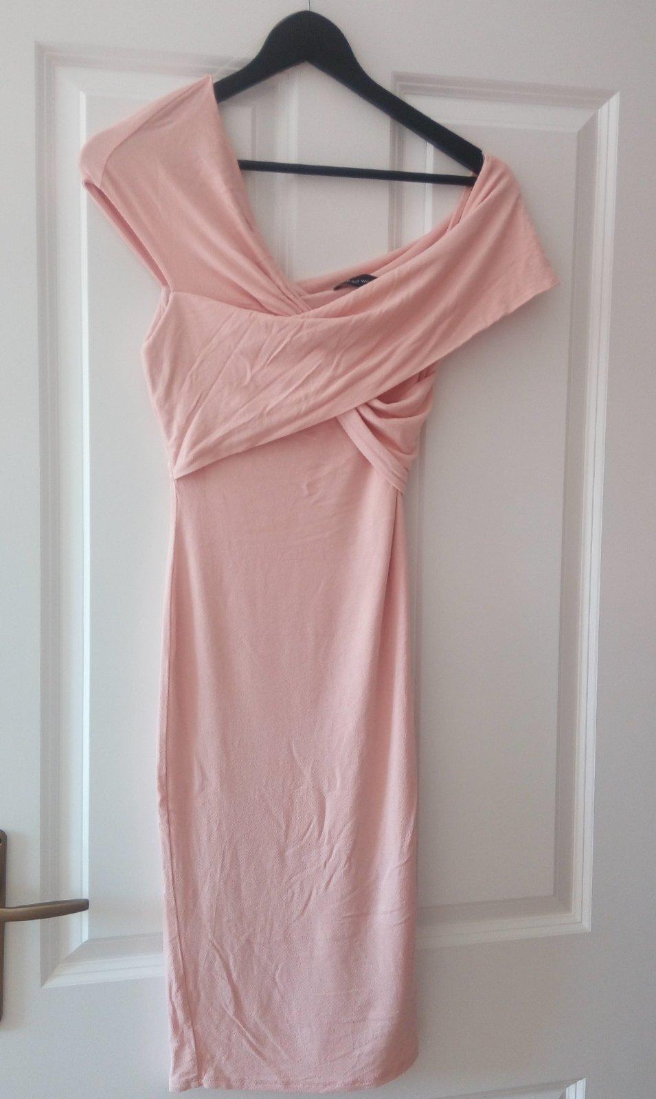 Bledoružové šaty XS/S - Obrázok č. 3