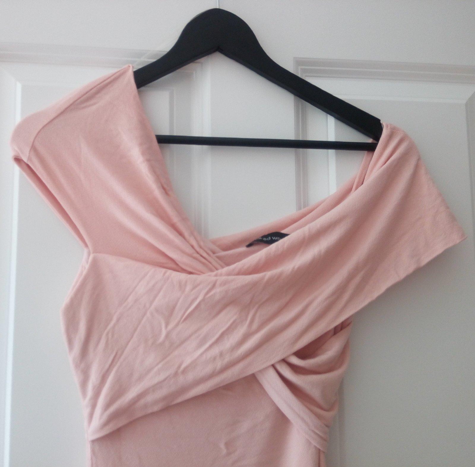 Bledoružové šaty XS/S - Obrázok č. 2