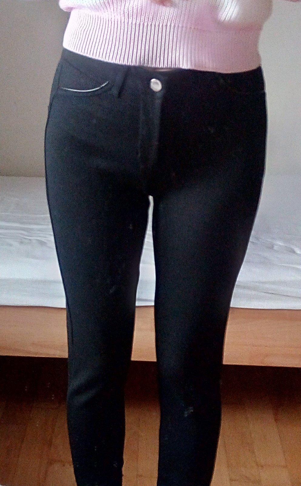 Čierne elegantné nohavice - Obrázok č. 1