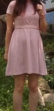 Bledoružové šaty Zoot XS - Obrázok č. 1