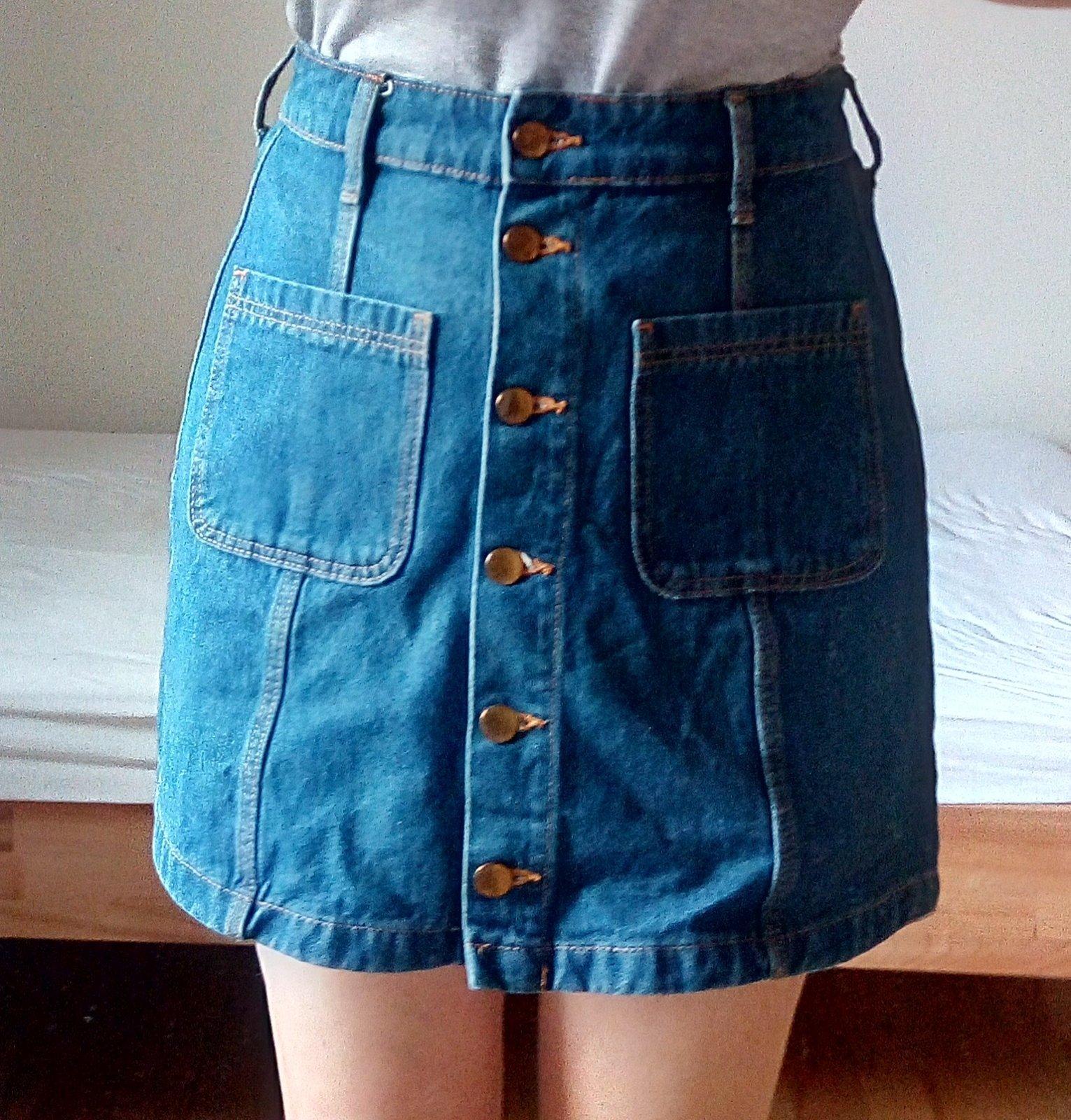Džínsová sukňa - Obrázok č. 1