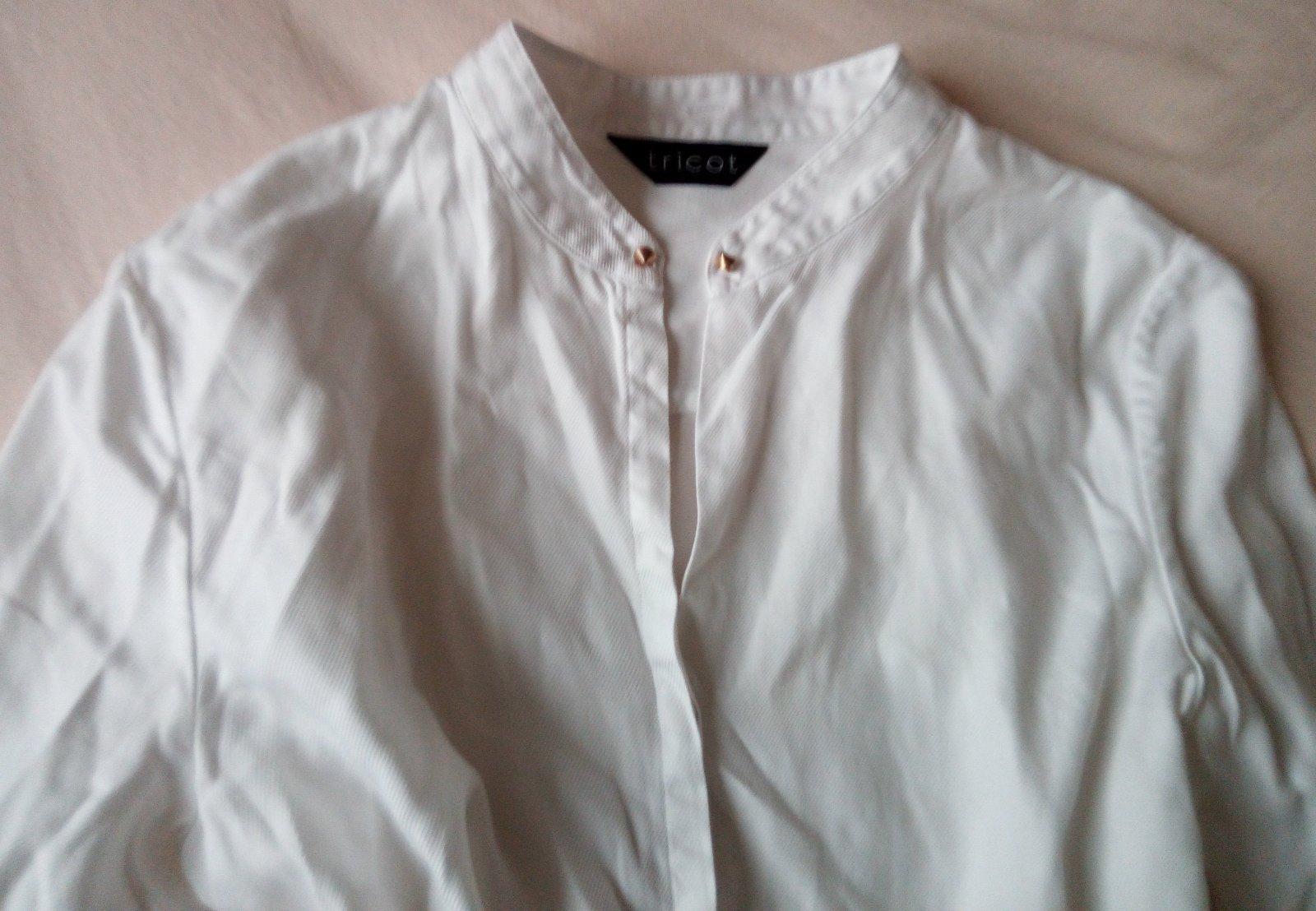 Biela blúzka S - Obrázok č. 3
