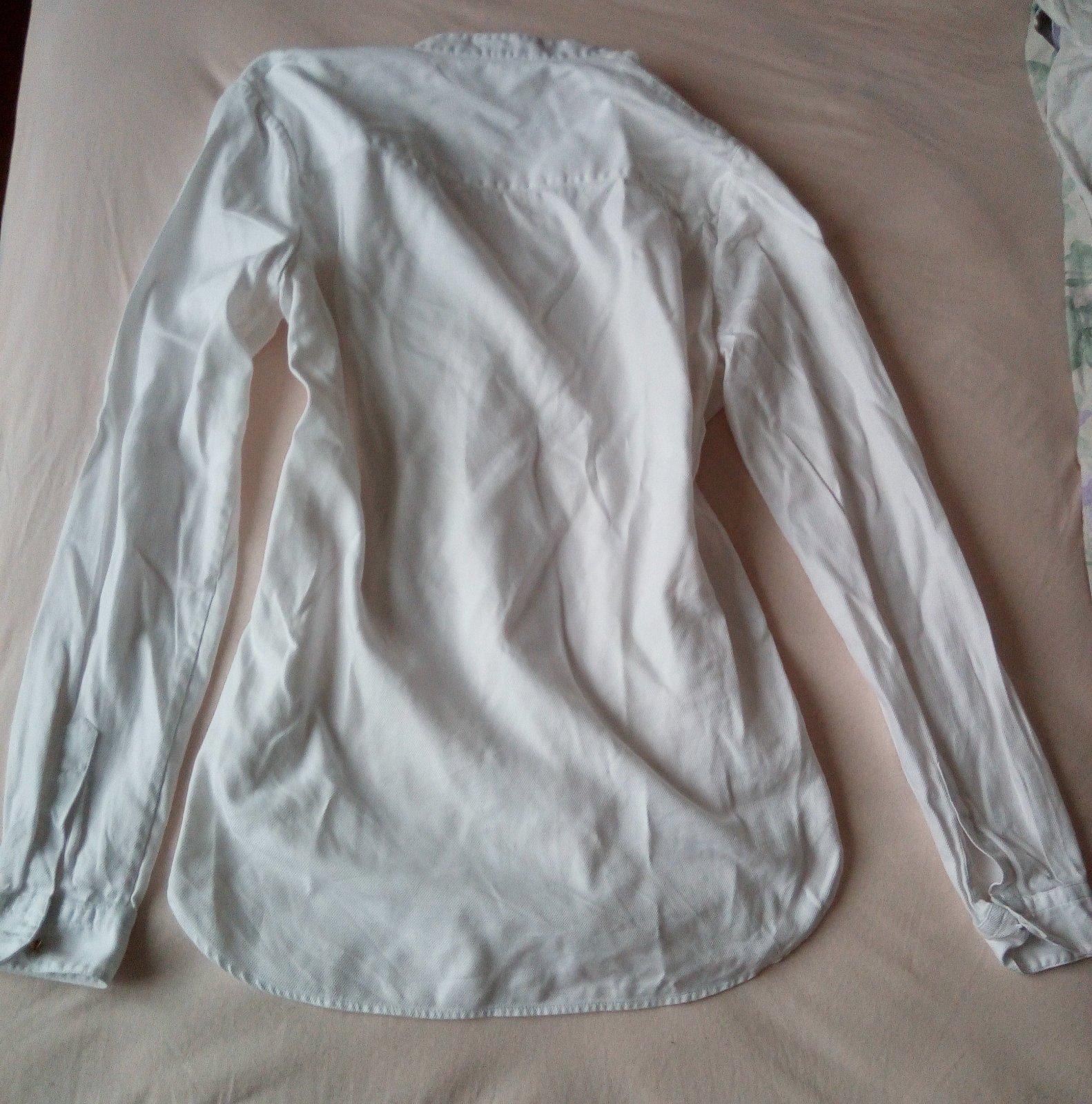Biela blúzka S - Obrázok č. 4