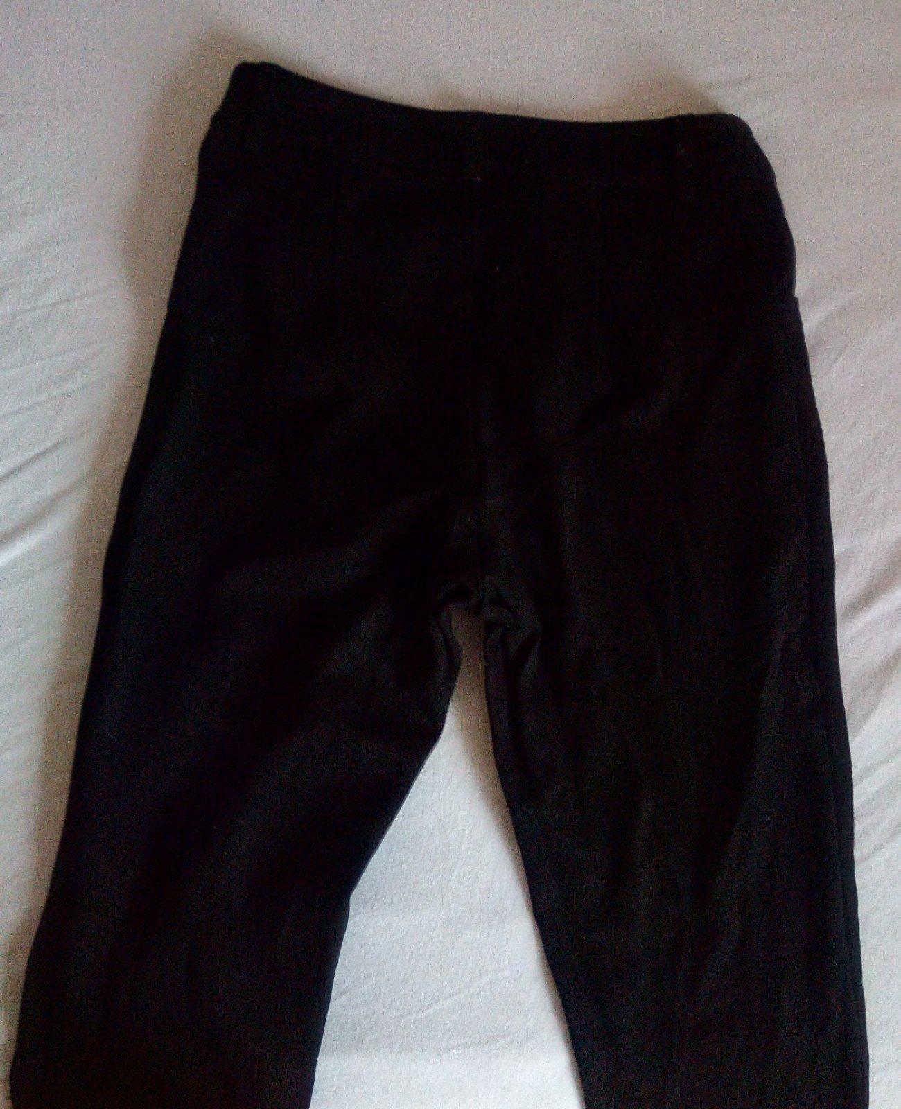 Čierne nohavice S - Obrázok č. 3