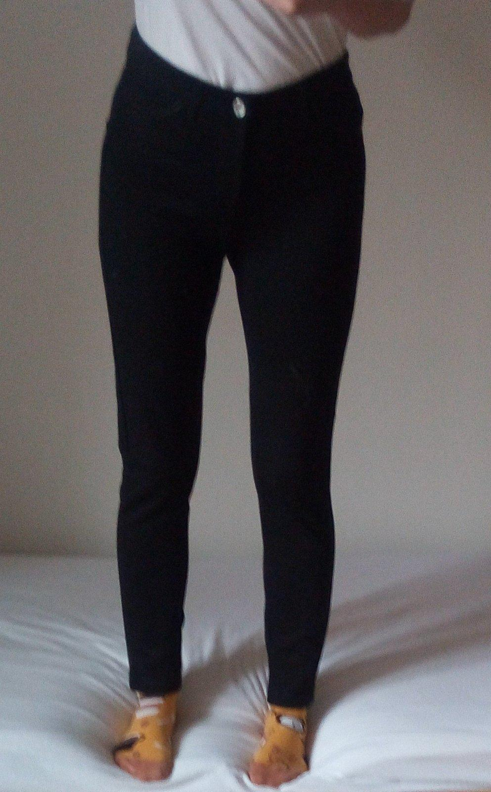 Čierne elegantné nohavice S - Obrázok č. 1