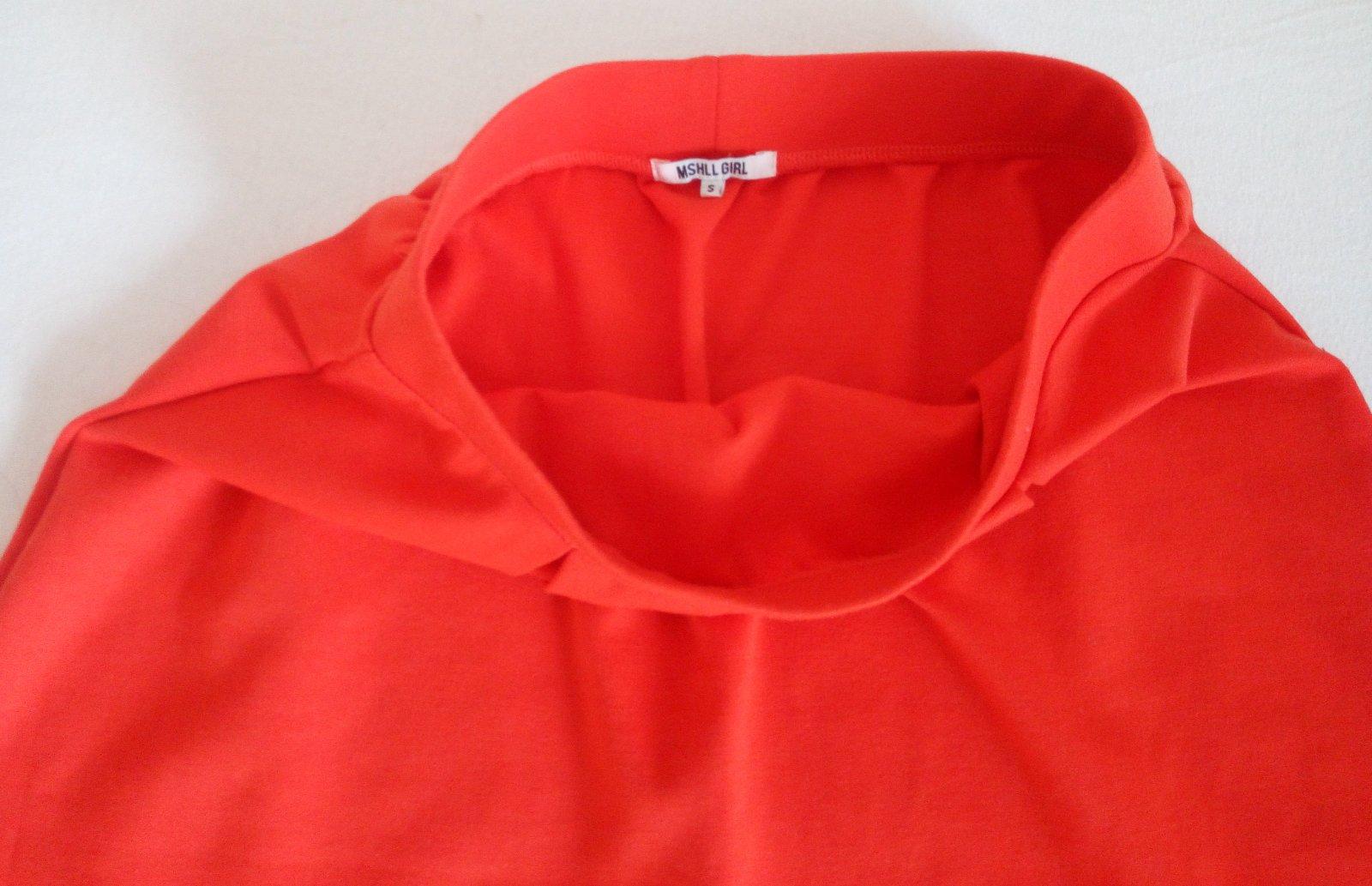 Červená áčková sukňa Gate S - Obrázok č. 3