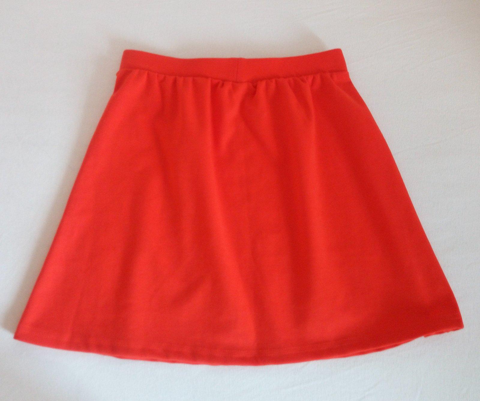 Červená áčková sukňa Gate S - Obrázok č. 4