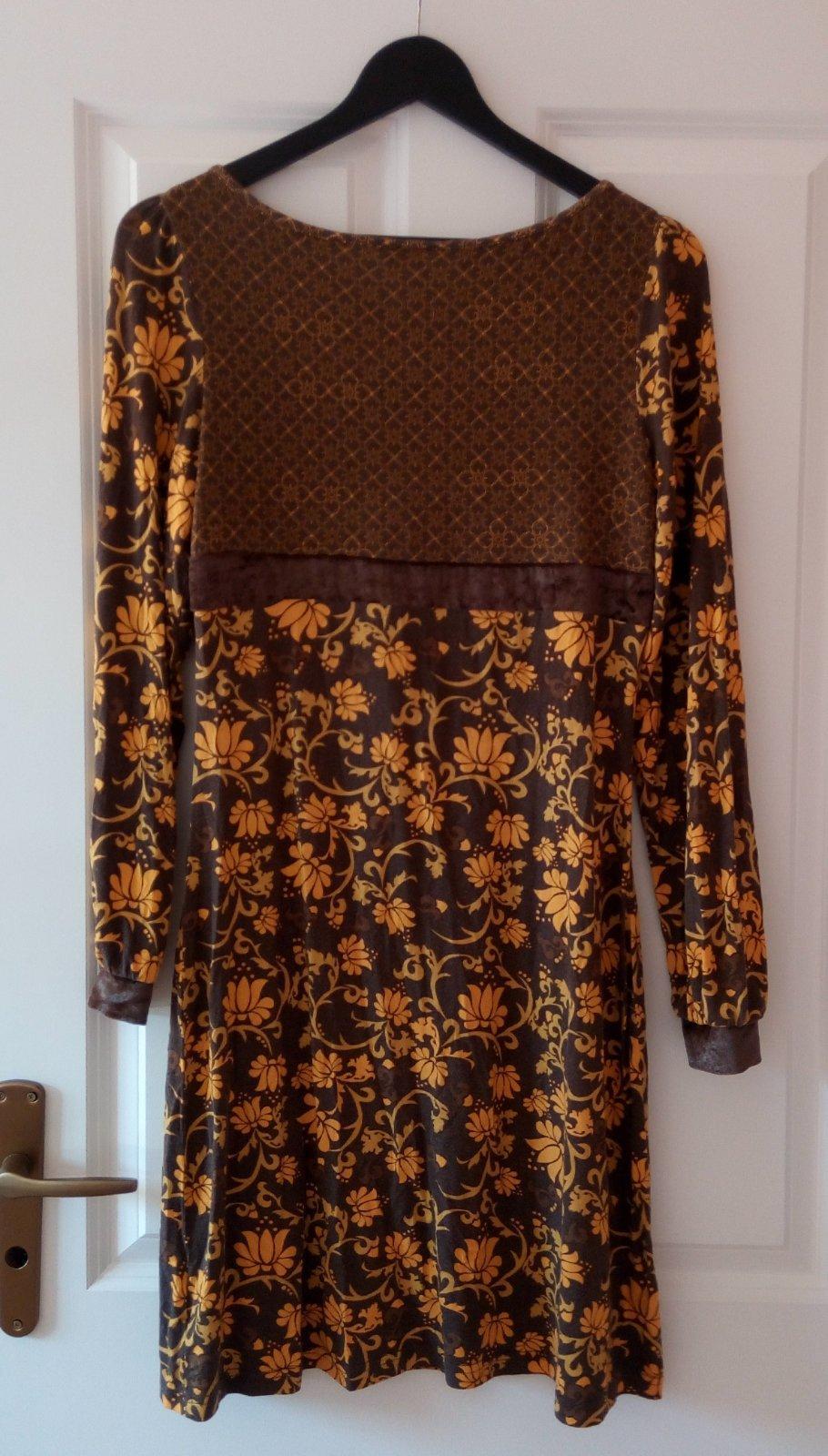 Žlté kvetované šaty - Obrázok č. 3