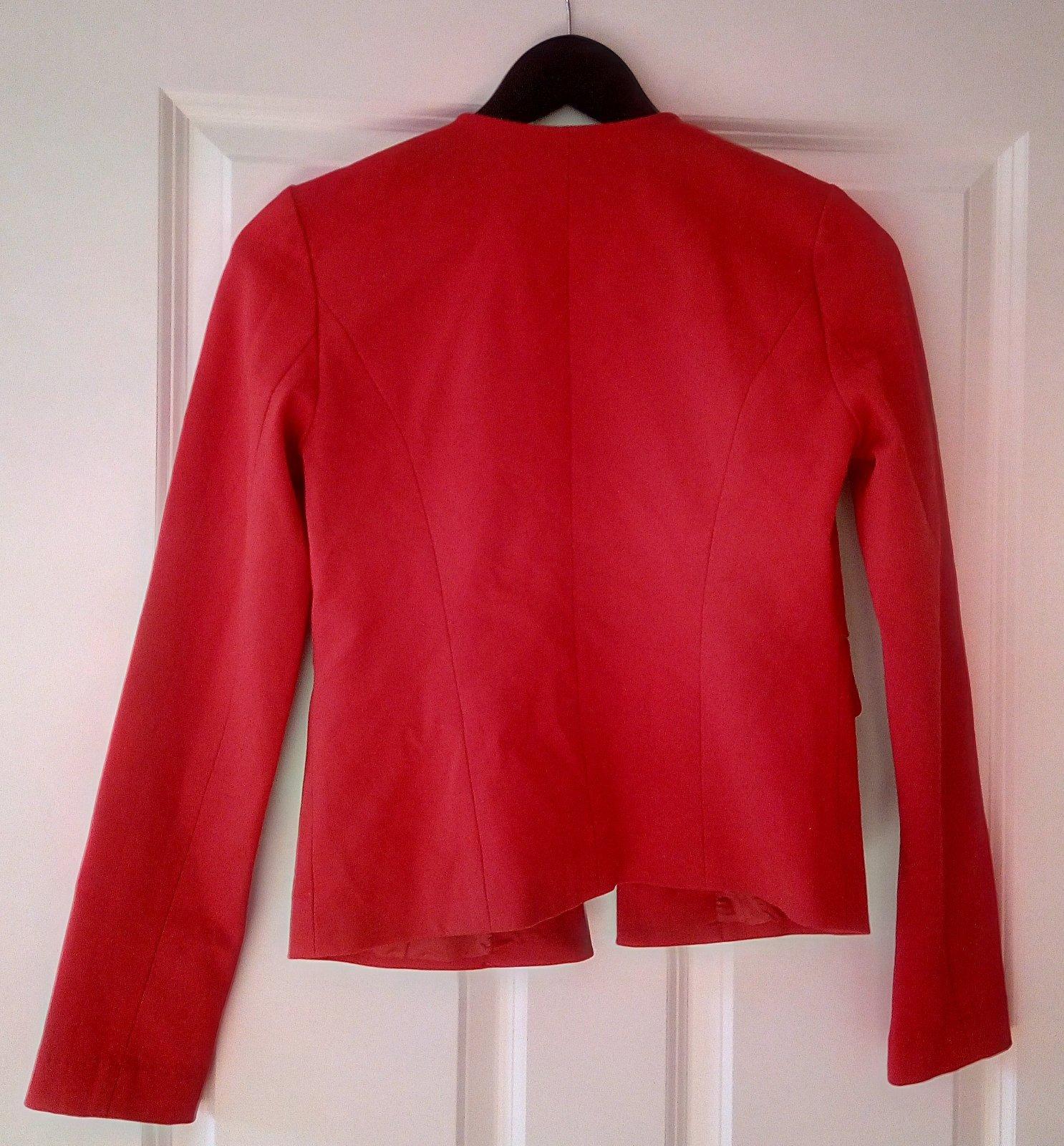 Červené dámske sako - Obrázok č. 3