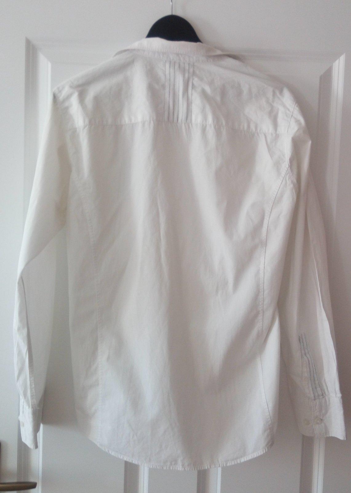 Biela pánska košeľa M, ponožky - Obrázok č. 2