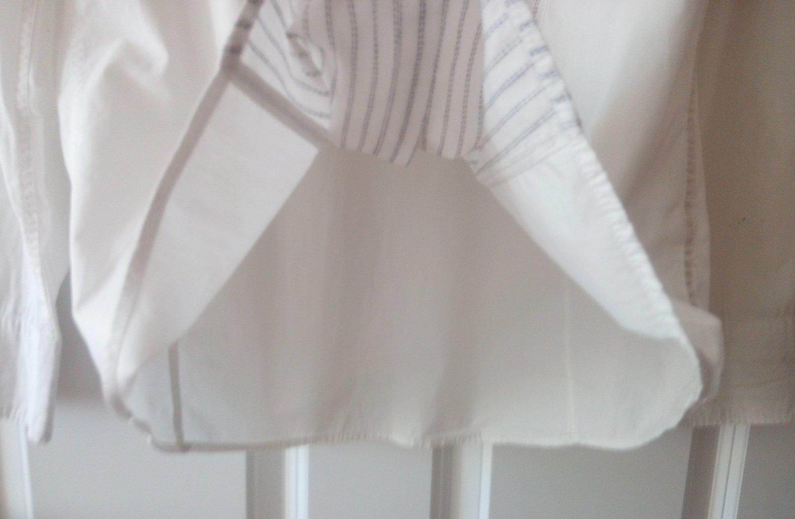 Biela pánska košeľa M, ponožky - Obrázok č. 4