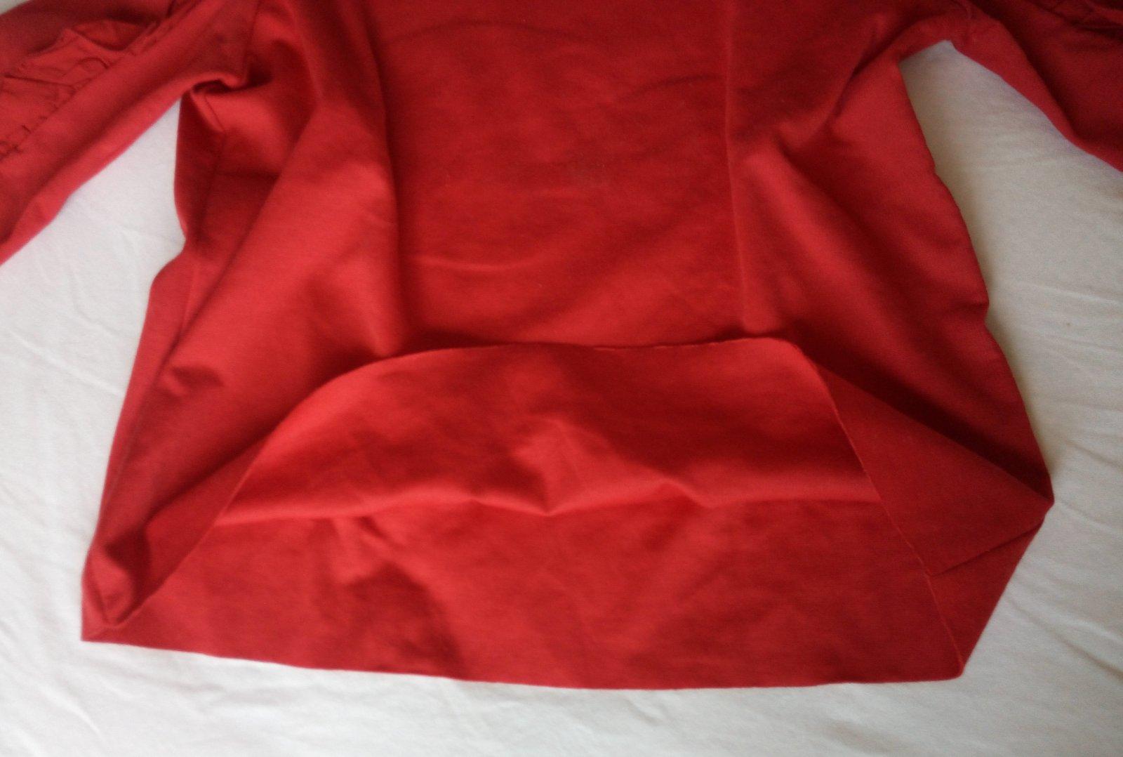 Červené tričko Zara S - Obrázok č. 4