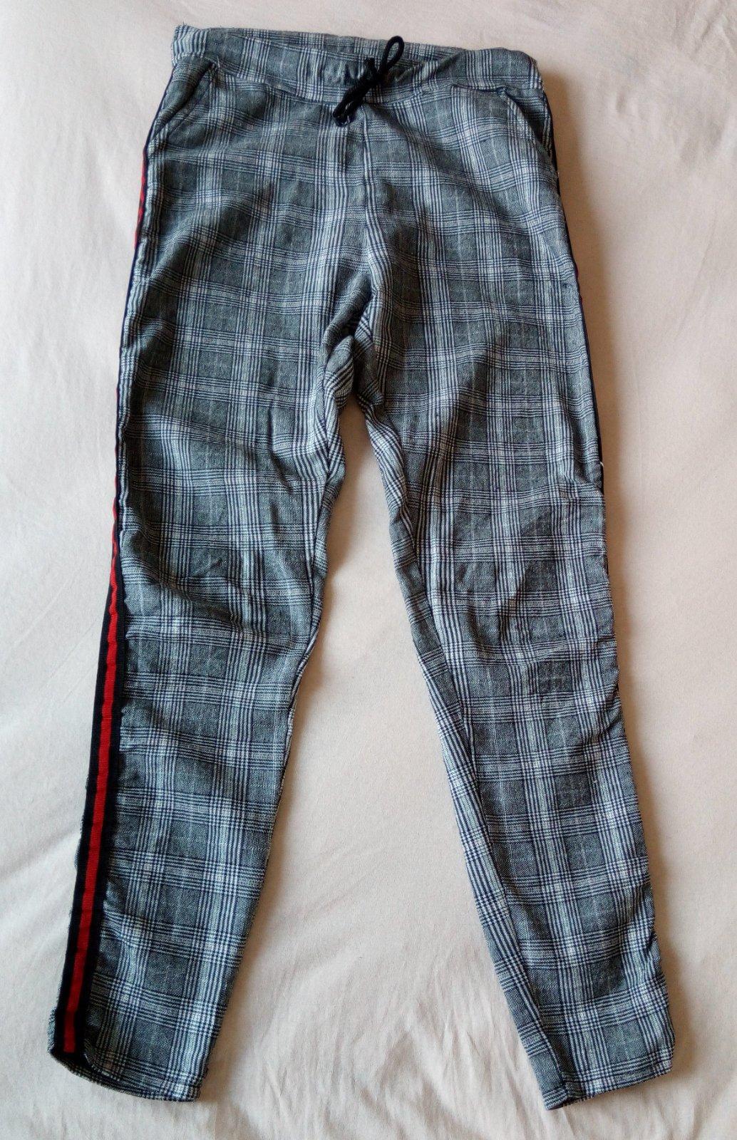 Kárované nohavice S - Obrázok č. 4
